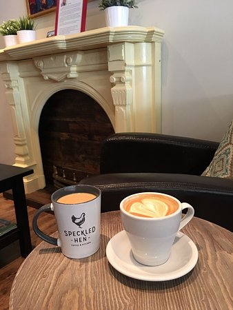 Coffee and latte Picture of Speckled Hen Strasburg TripAdvisor