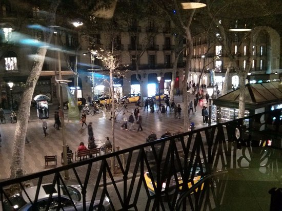 Hotel Lloret Ramblas: View from lobby