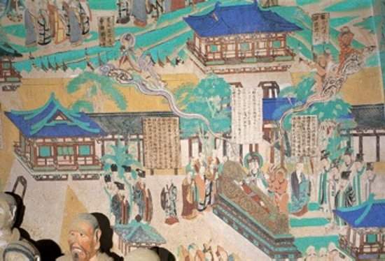 Dunhuang, China: One can look at these paintings the entire day and be in awe