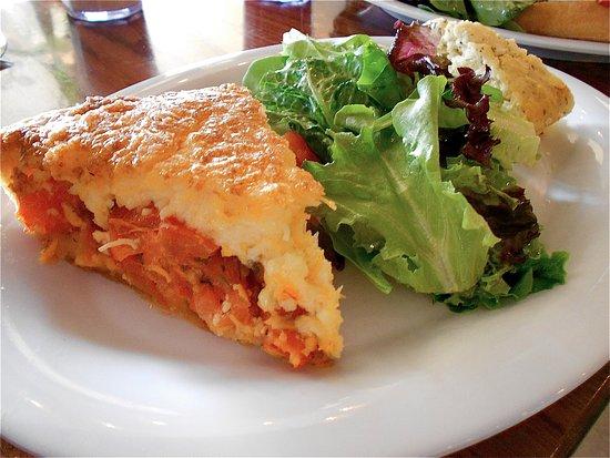 Lititz, Pensilvania: Signature Tomato Pie