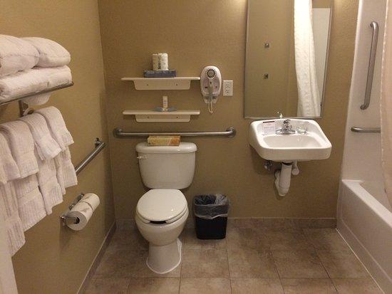 Evans Mills, نيويورك: Guest Bathroom