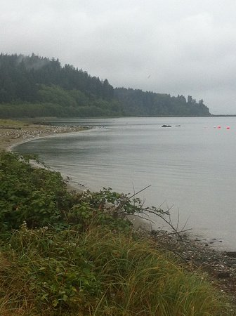 Clallam Bay, WA: On the way in Neah bay