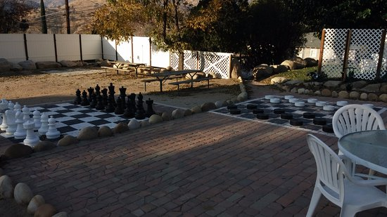 The Kern Lodge: Giant Checkers and Chess