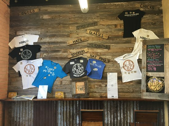 T-shirt-wall - Picture of New Braunfels Brewing Co, New Braunfels ...