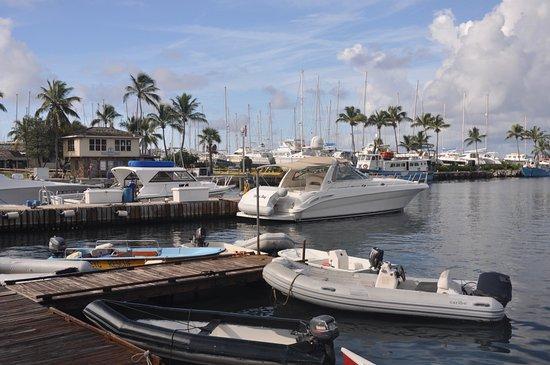 Spanish Town, Virgen Gorda: the marina