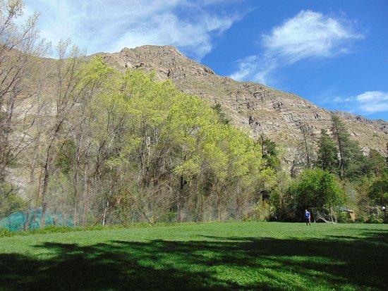 Cascada de las Animas: View of the mountain