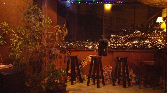 Hostal Wara Wara: view of balcony