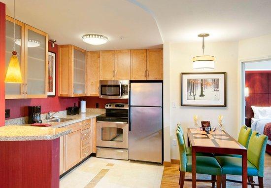 Colchester, VT: Two-Bedroom Suite Kitchen
