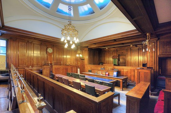 Lancaster, UK: The magistrate's court