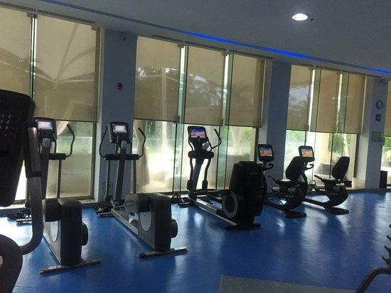 Great gym picture of live aqua beach resort cancun cancun tripadvisor for How many rooms at live aqua cancun