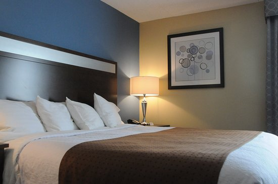 Kulpsville, PA: You will get a great night's sleep in our plush King Size beds!
