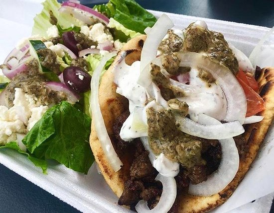 yazi z food truck lamb and beef gyro