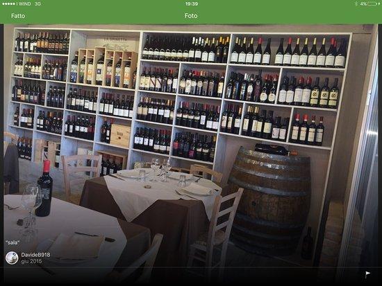 Infernetto, Włochy: La cantina