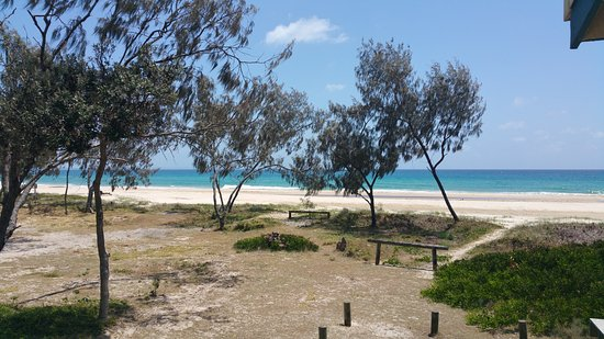 North Stradbroke Island, Australia: A loo with a view