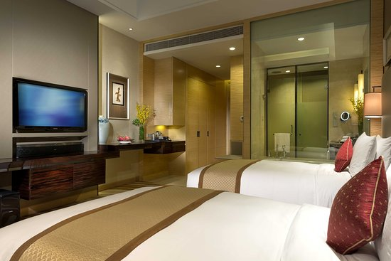 Tangshan, China: 2 single beds deluxe