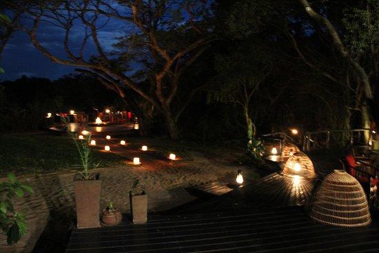 Maputaland Coastal Forest Reserve, Sudáfrica: Dinner