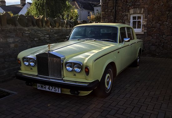 The Yellow Rolls Royce Picture Of Cathedral 73 Cardiff Tripadvisor