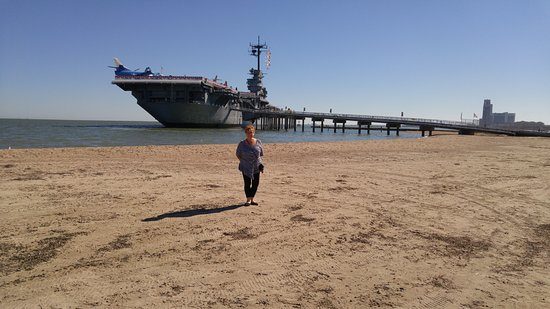 USS LEXINGTON: Getting ready to go on board this great ship!