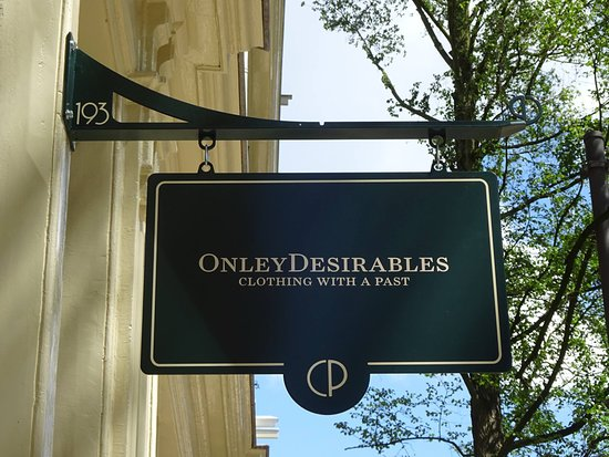 OnleyDesirables - Clothing With a Past