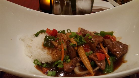Teriyaki Beef Stir fry Picture of Islands Dining Room at Loews