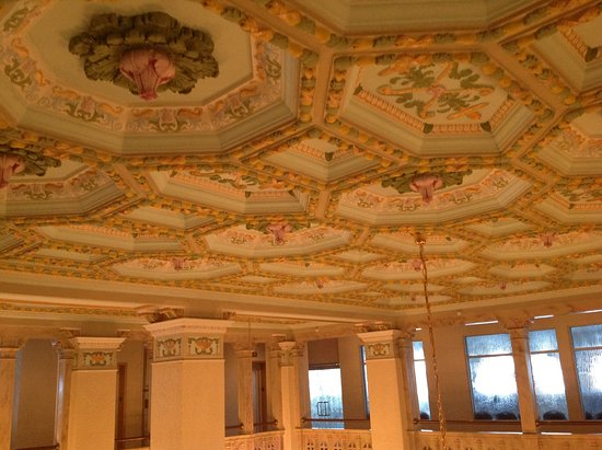 Floridan Palace Hotel: Lobby ceiling.