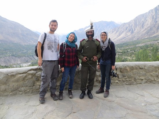Baltit Fort: View from the fort