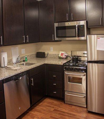 Port Arthur, TX: Two-Bedroom Suite Kitchen