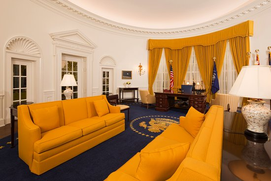 Yorba Linda, CA: Sit at the President's desk inside an exact replica of Nixon's Oval Office.