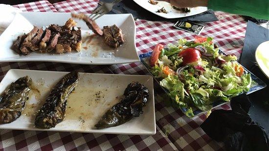 Poio, Spania: espectacular las carnes