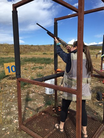 Three Quarter Circles Sporting Clays: Pull!