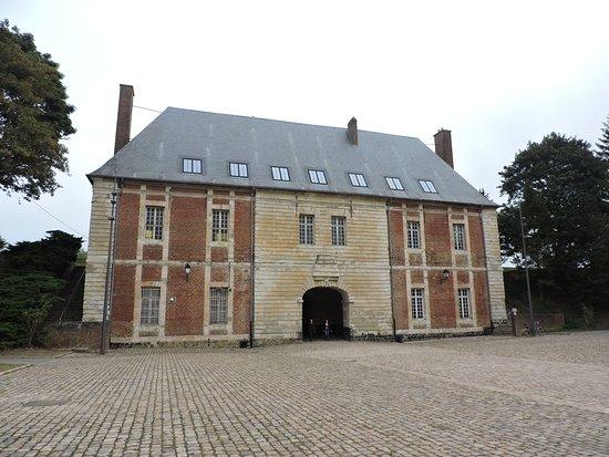 Citadel in Arras: Le bâtiment d'entrée vu de l'intérieur