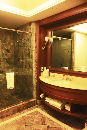 Sit Down Shower - Picture of Hilton Lac-Leamy, Gatineau - TripAdvisor