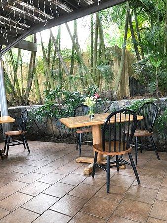 Holualoa, HI: Holuakoa Cafe & Gardens