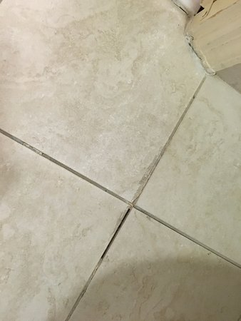 Doubletree Hotel Atlanta/Alpharetta-Windward: broken tiles