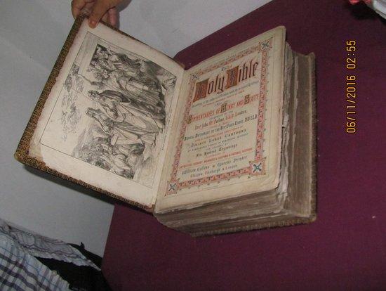Casa Evans.Biblia Conchillas