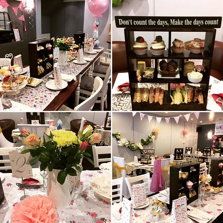 Afternoon Tea Set Up For Wedding Reception Private Party Picture