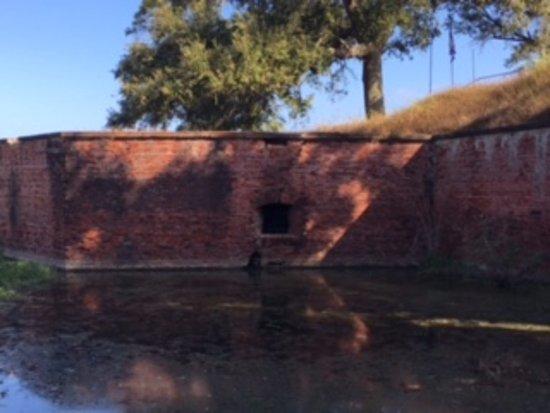 Port Sulphur, LA: Alligator moat