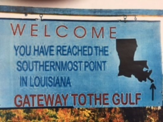 Port Sulphur, Louisiane : Signage