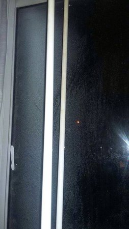 Ramada Commerce/Los Angeles Area: window in room 101