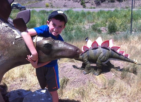 Wolcott, CO: every kid loves dinosaurs