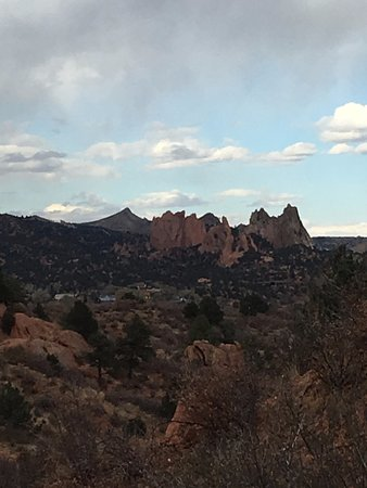 Garden of the Gods from Red Rock Canyon Open Space