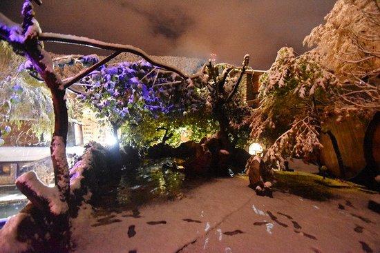 водолей и снег