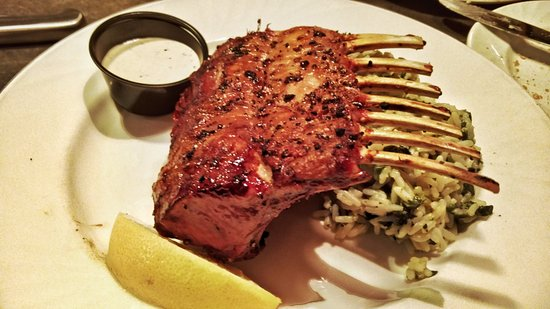 Andover, MA: roasted rack of lamb