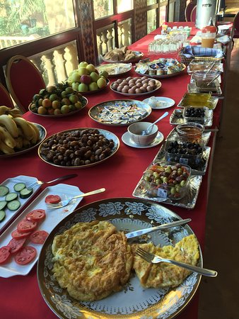 Kasbah Asmaa: breakfast
