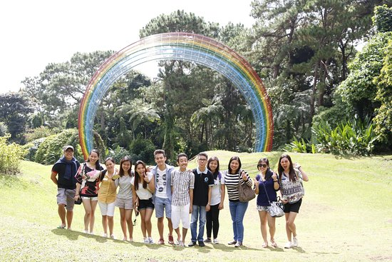 دافاو, الفلبين: At the Rainbow Pass :)