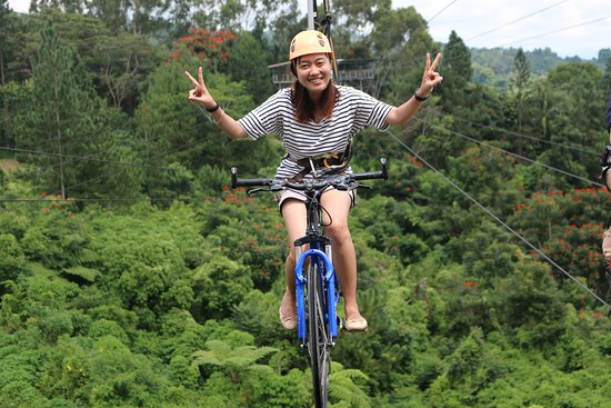 دافاو, الفلبين: Skycycle! ♥