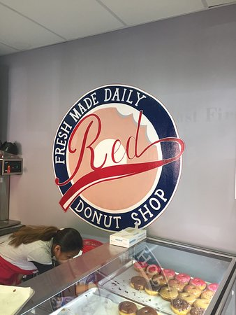 Red Donut Shop: Best donuts around!!