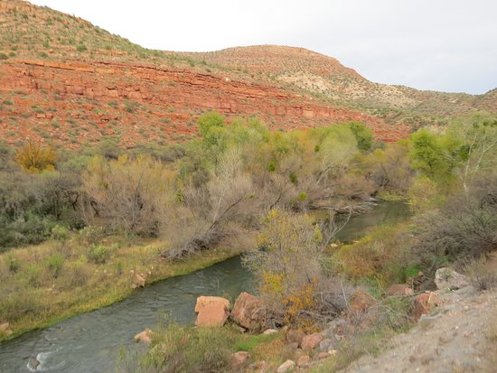 Clarkdale, Αριζόνα: Verde Canyon Railroad along the Verde River