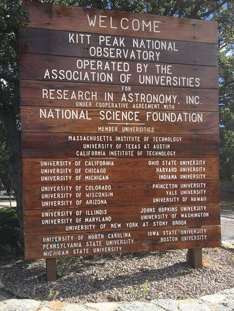 Sells, AZ : Kitt Peak National Observatory. Trivia - Ohio State and Michigan share an Observatory!