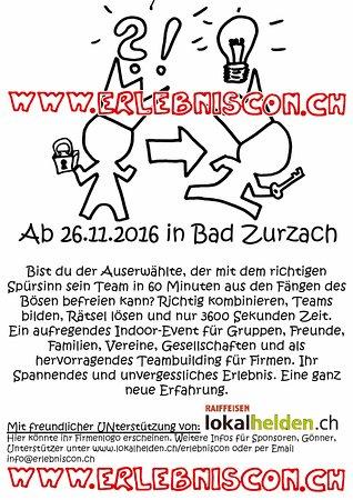 Zurzach, Switzerland: Aktueller Flyer Seite 1